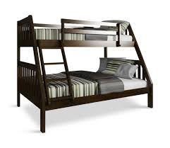 Pinehurst II Twin over Full Bunk Bed - Espresso Finish | HOM Furniture