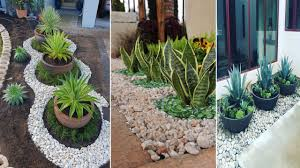 39 Creative Rock Garden Landscaping Ideas On A Budget Diy Garden Youtube