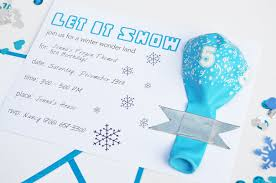 make your own frozen invitations diy frozen invites nice winter themed birthday invitations