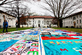 World AIDS Day quilt display joined by parade, music and dancing ... & 1, Emory hosts the nation's largest collegiate display of the AIDS Memorial  Quilt, which has been moved to the Dobbs University Center to protect the  quilt ... Adamdwight.com