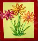 Открытки своими руками к дню матери цветы