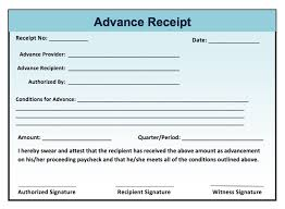 Advance Receipt Template Microsoft Word Templates Advance Microsoft