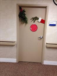 Nice decorate office door Halloween Grinch Christmas Door Decorations For The Office Pink Lover Christmas Decoration Ideas For Office That Everyone Will Love