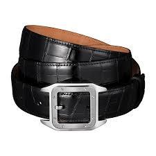 7 cartier crocodile leather and palladium belt most expensive men s belts top 10