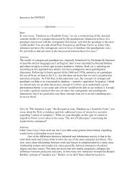 Example Of An Interview Essay 30 Interview Essay Examples Free Simple Template Design