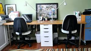 t shaped office desk. Two Desk Home Office T Shaped For Computer Desks
