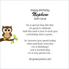 Nephew Quotes Enchanting 48 Conventional Happy Birthday To My Nephew Quotes Msuk48connectorg