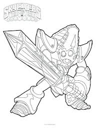Skylanders Coloring Pages To Print Giants Coloring Pages Coloring