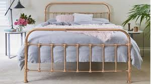 gold bed frame queen. Wonderful Gold Shelby Queen Bed  Rose Gold Beds U0026 Suites Bedroom Manchester And Frame