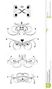Scroll Designs Stock Illustration Illustration Of Fashion