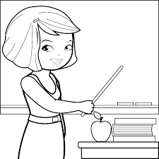 Teachers Coloring Pages Teacher Coloring Pages Appreciation Day