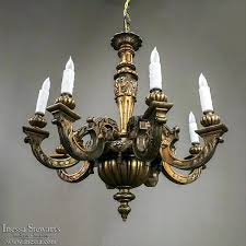 antique wood chandelier antique hand painted gilded wood chandelier antique farmhouse wood bead chandelier