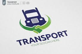 Transport Truck Logo Truck Transport Templates Logo