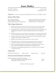 10 Office Assistant Resume Sample Wsl Loyd