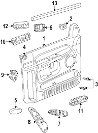 parts com® dodge switch door lock partnumber 5gs19dx9ac 2007 Dodge Ram 1500 Diagram 2007 dodge ram 1500 st v8 4 7 liter flex interior trim dodge ram 1500 radio wiring diagram 2007