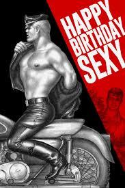 Sexy gay birthday cards