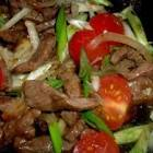 beef tomato chow yuk