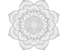 mandala coloring sheets pages easy just free printable pdf coloring pages for kids
