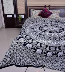 details about ethnic n elephant mandala print bedding duvet ethnic n elephant mandala print bedding duvet quilt cover queen duvet set handmade traditional