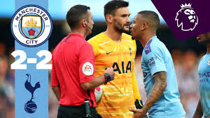 HIGHLIGHTS | Man City 2-2 Tottenham | Sterling, Aguero, Lamela, Moura -  YouTube
