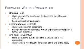 Tips On Answering Structured Essay Question  Seq