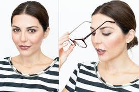 makeup for gles cat eye tutorial