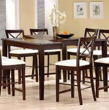 amazing of tall round dining room sets with countertop dining room sets