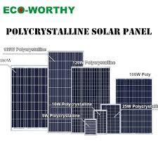 Top Quality 5W/<b>20W</b>/80W Poly <b>12V Solar Panel</b> Battery Charge ...