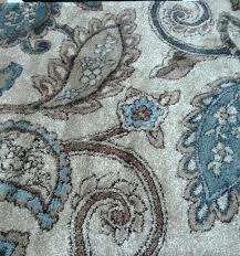 lighting beautiful blue and brown rugs 18 paisley blue grey and brown rugs