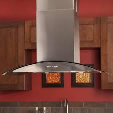 Range Hood Kitchen 36 Caselle Series Stainless Steel Island Range Hood 502 Cfm Fan