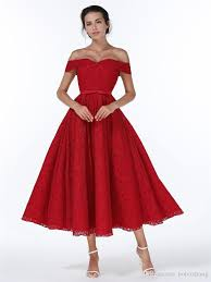 2017 2017 Christmas New Year Dress Bridesmaid Lace Red Dresses ...