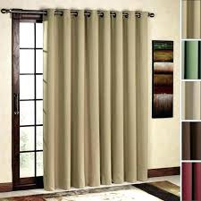 curtains for sliding glass doors how to hang over vertical blinds without drilling curtain rod door