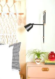 sconces swing arm sconce plug in amusing wall sconces plug in swing arm wall lamp