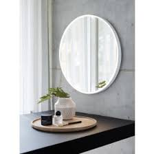 bathroom mirror lights. ledlux reflextion dimmable round led light and mirror bathroom lights