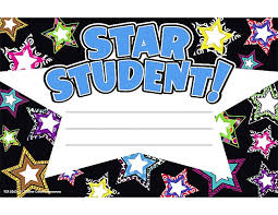 Star Student Certificates Star Student Awards