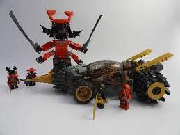 LEGO NINJAGO 70669 Cole's E.arth Bohrer Bewertung