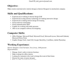 ... Large Size of Office:29 Interior Designer Resume Sample 24 Cover Letter  Template For Regarding ...