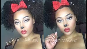 y minnie mouse makeup