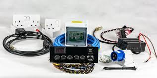 full campervan conversion electrical motorhome wiring kit 12v 240v
