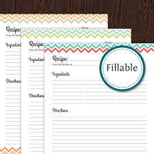 Full Page Recipe Templates Full Page Recipe Template For Word Template Business