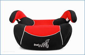 fine living baby booster seat red
