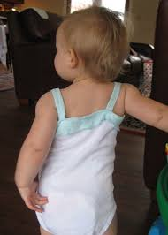 Infant Girl Clothes: Easy Onesie Tank   Baby girl diy, Baby girl clothes,  Baby sewing