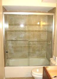 half glass shower door for bathtub sliding doors tubs cost how to medium size of hinged glass shower doors cost