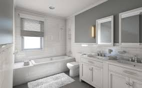 Dark Or Light Bathroom 17 Classic Gray And White Bathrooms