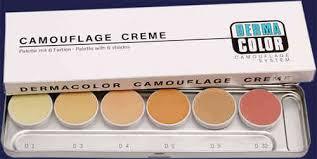 Dermacolor Camouflage Palettes 6 Colors