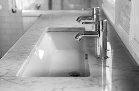 sweet long undermount bathroom sink sinks amusing trough with two faucets