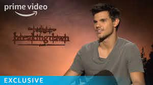 Breaking Dawn Taylor Lautner Interview ...