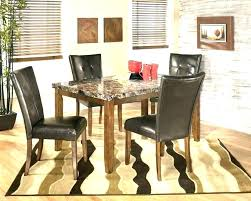 granite dining table top round room and chairs