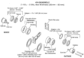 schlage locks parts diagram. Schlage Locks Parts Diagram. Delighful Sargent 474 Double Cylinder  Deadlock Deadbolt Dead Bolt Rh Diagram T