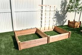 lifetime raised garden bed lifetime raised garden bed kit beds elevated planters the home depot p